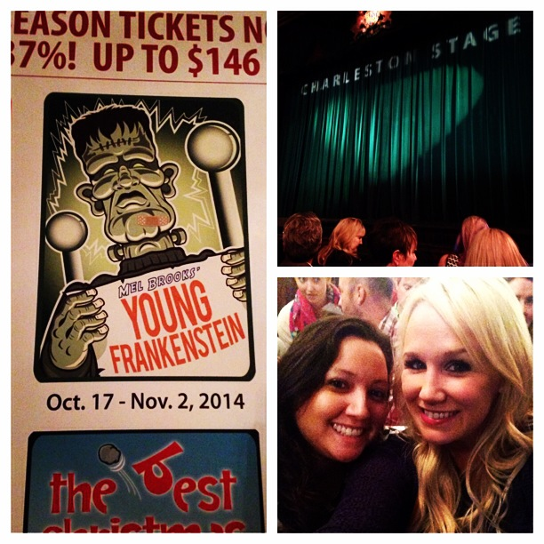 At the Dock Street Theater for Young Frankenstein